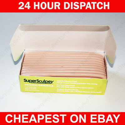 Super Sculpey Original Beige, 1 pound SS1 454g SUPER FAST DELIVERY