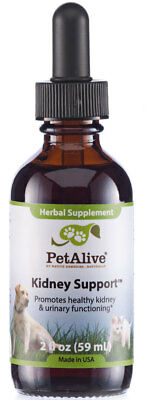 Pet Alive Kidney Support - All Natural Herbal Supplement Promotes Healthy Kidney
