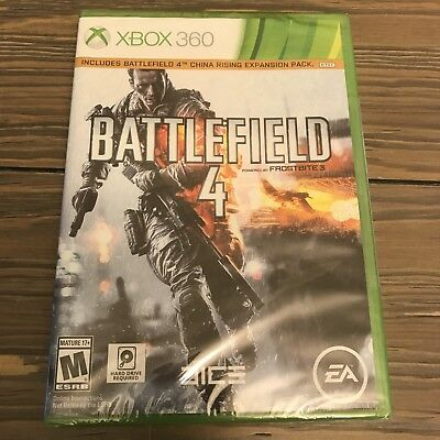 Battlefield 4 Microsoft Xbox 360 BRAND NEW FACTORY SEALED