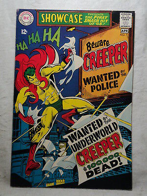 SHOWCASE #73 BEWARE the CREEPER 1st APPEARANCE1968 D C Comic Book