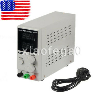 Longwei LW-K3010D 30V 10A Adjustable DC Power Supply with LED Display USA Ship