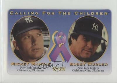 1996 MCI Calling for the Children Phone Cards #MMBM Mickey Mantle Bobby Murcer
