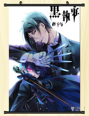 Anime Black Butler Ciel Phantomhive Home Decor Wall Scroll Decorate Poster DD712