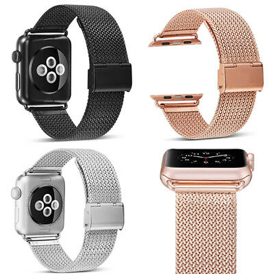 Stainless Steel Replacement Strap Band for Apple Watch 1 2 3 38/42mm