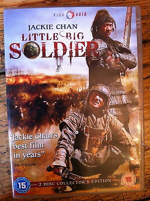 Jackie Chan Little Big Soldier ~ 2010 Artes Marciales Epic Gb 2-disc Spec Ed DVD