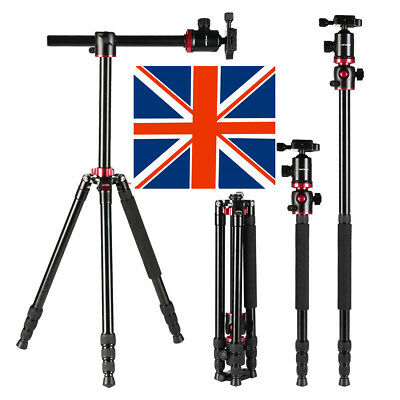 KF09.015 K&F Concept DSLR SLR Camera Tripod & Monopod w/ 360 Degree Ball Head UK