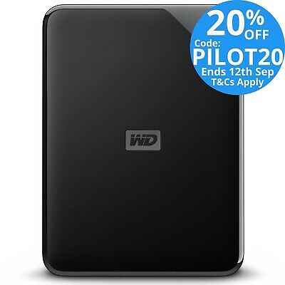 "Western Digital WD Elements SE 2TB 2.5"" USB 3.0 Portable External Hard Drive HDD"