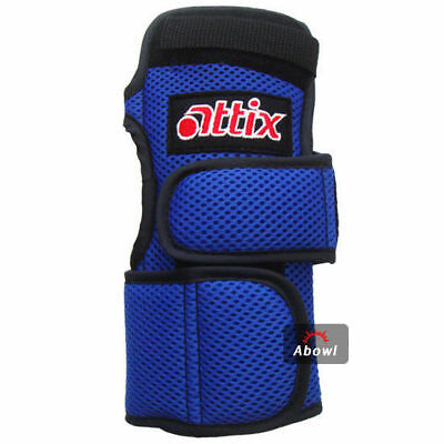 ATTIX MAMMOTH BLUE RIGHT Hand Bowling Wrist Support Accessories Sports_NU
