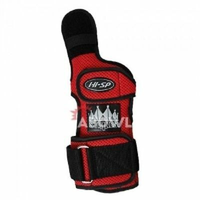 HI-SP STRIKE COBRA RIGHT RED Hand Bowling Wrist Support Accessories Sports_NU