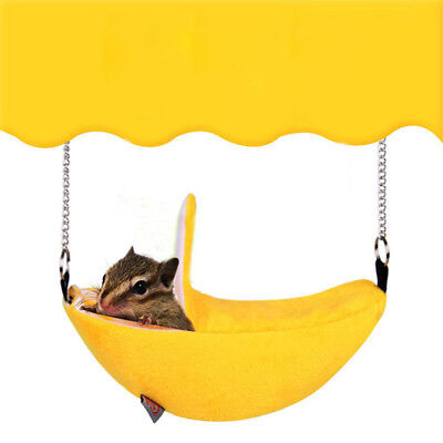 Hammock House for Pet Ferret Rat Hamster Parrot Squirrel Hanging Bed Toy Divine
