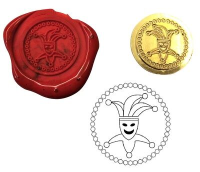 Court Jester Comic Wax Stamp Seal Starter Kit or Buy Coin Only XWS039B/XWSC359