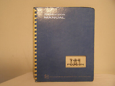 Tektronix  Type 1A1 Dual - Trace Plug-In Unit  Instruction Manual