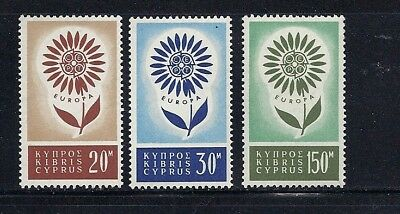 CYPRUS 1964 EUROPA complete VF MNH