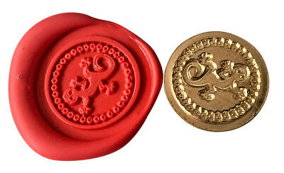 Ghecko Lizard Wax Stamp Seal Starter Kit or Buy Coin Only XWS039B/XWSC276