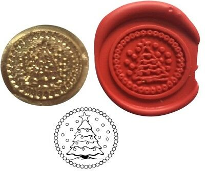Christmas Tree Wax Stamp Seal Starter Kit or Buy Coin Only.  XWS039B/XWSC259