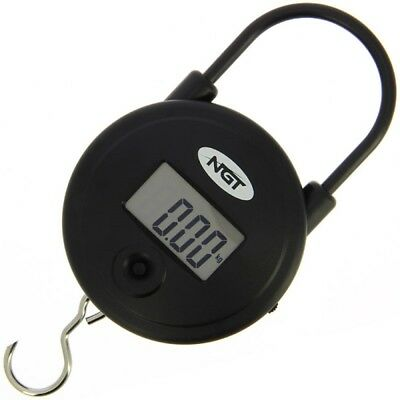 NGT Quickfish Round Digital Fishing Weighing weigh Scales 55LB  25KG Carp Tackle