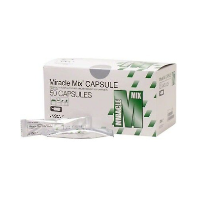 GC 000124 Miracle Mix Reinforced Crown & Core Buildup Material Capsules 50/Pk