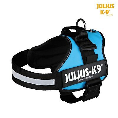 Julius K9 Power House Harness Dog Aqua Size 3 - XXLarge (82-116cm ) 15069 SALE *