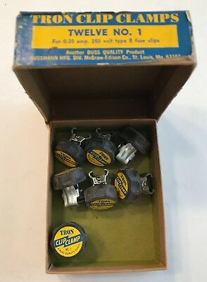 Lot of (7) TRON CLIP CLAMP NO. 1  NEW-FREE Shipping