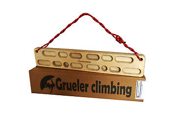 Grueler climbing hang board, Fingerboard, climbing holds training