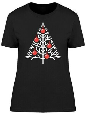 Christmas Tree With Red Balls Women's Tee -Image by Shutterstock