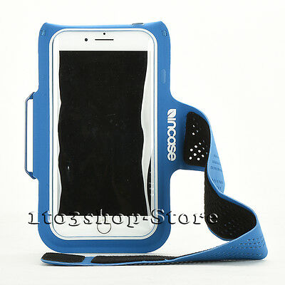 Incase Sports Active Armband w/Key Pocket for iPhone 8 iPhone 7 iPhone 6s/6 Blue