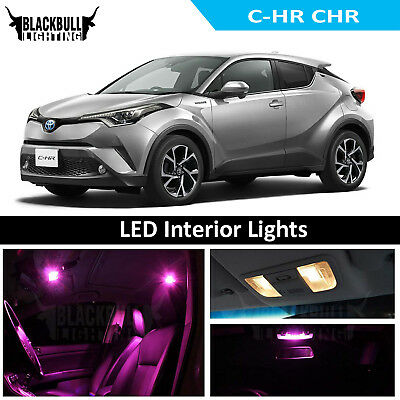 toyota chr interior lights