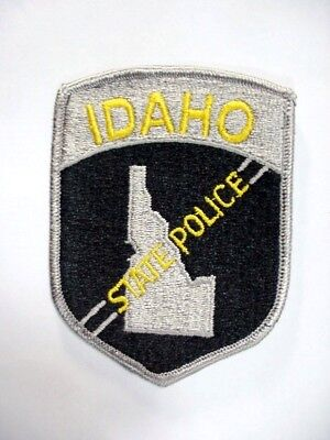 "IDAHO STATE POLICE COLLECTIBLE PATCH - 4"" by 3"" -- NEW OLD STOCK!"