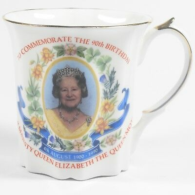 Queen Elizabeth The Queen Mother 90th Birthday 1990 - Commemorative Cup