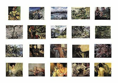 New Postcards by Artist Lovis Corinth (1858-1925) 21 paintings Great Quality