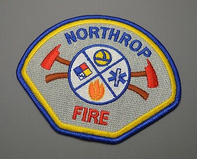 NATIONAL CITY CALIFORNIA Fire Dept  Patch #1 ++ San Diego