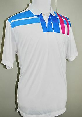 a527f542e556 NIKE Golf Dri-Fit 1972 Body Map Polo Shirt Men s Short Sleeve White Mesh  417501