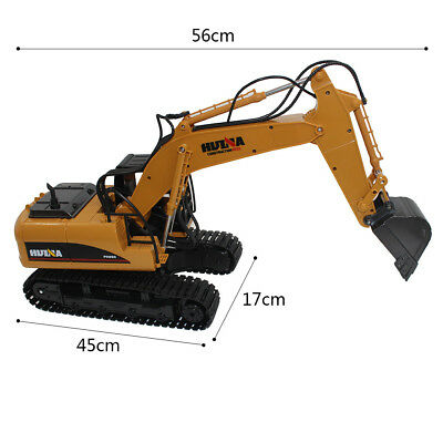 HOT 15CH Full Functional Remote Control Excavator Bulldozer Construction Toy