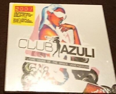 2 x DJ Mix CD - CLUB AZULI 2007 Mixed by David Piccioni HOUSE ELECTRO CLUB FUNKY