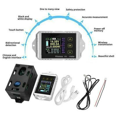 30A wireless DC volt AMP meter Battery Monitor capacity Coulomb counter (S390)