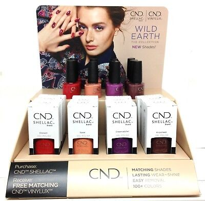 VINYLUX - CND Nail Polish .5oz - WILD EARTH 2018 Collection