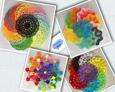 Doilies Die Cuts - Scrapbooking, Card, Topper, Embellishments