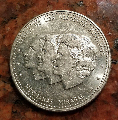1986 Dominican Republic 25 Centavos Coin - #3993
