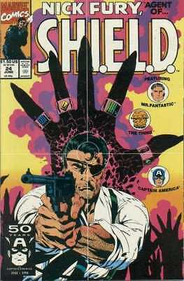 Nick Fury: Agent of SHIELD (1989 series) #24 in NM minus cond. Marvel comics