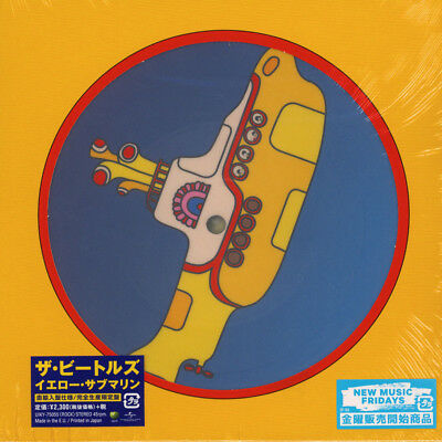 "Beatles, The - Yellow Submarine Picture Disc  (Vinyl 7"" - 2018 - JP - Original)"