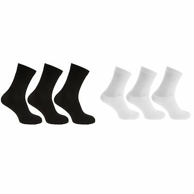 Mens Stretch Top Cotton Rich Diabetic Socks (Pack Of 3) (MB495)