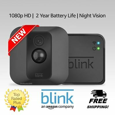 BLINK XT HOME Security Camera System Motion Detection Wall Mount Works with  XT2