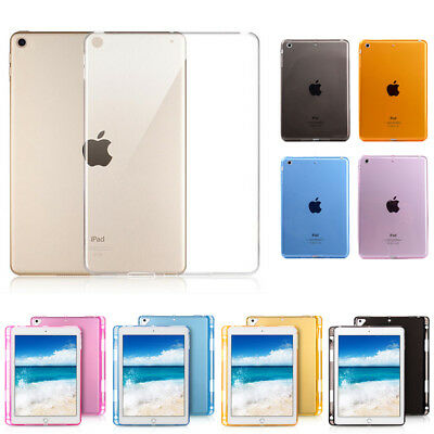 """For Apple New iPad 6th Gen 2018/2017 9.7"""" Transparent Clear TPU Soft Case Cover"""