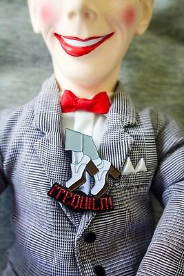 PeeWee herman Enamel Pin Limited Edition Of 100! Playhouse Big Adventure Big Top