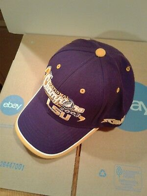 huge selection of 0dcfd 540a3 L.S.U Top of the World Hat 2003 National Champions NCAA SEC New.