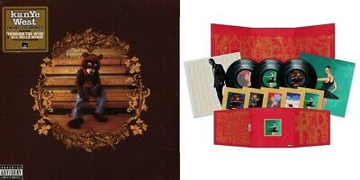 Kanye West Beautiful Dark Twisted Fantasy / College Dropout 2 x vinyl LPs NEW/SE