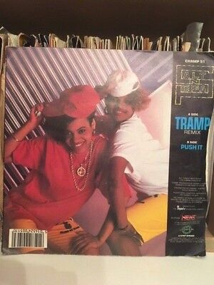 "Salt 'N' Pepa ‎– Tramp (Remix) / Push It 7"" Vinyl Old School Hip Hop 45 Champion"