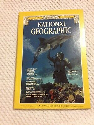 National Geographic Magazine - Vol. 155, No. 4 - April 1979.