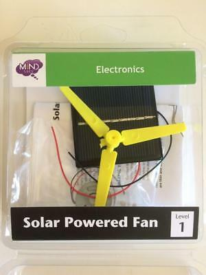 MINDSET ELECTRONICS SOLAR POWERED FAN robot models educational part