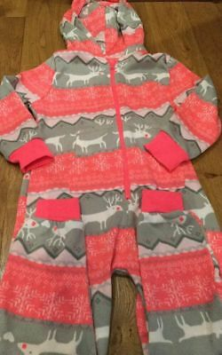 Next Girls Christmas Printed All in One Size 7 years By Next
